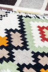 Traditional wool rugs with different designs