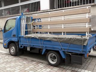 ガラス運搬車