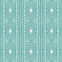 tribal blue and beige pattern