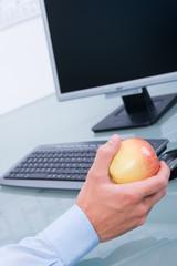im büro gesund ernähren
