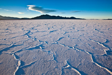 USA - Bonneville salt flats