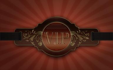 Emblem VIP LEDER