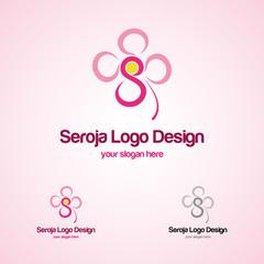 Flower S Logo Template
