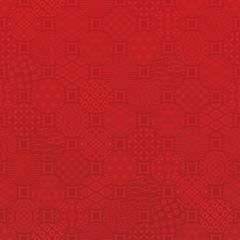 和柄の赤い水玉背景
