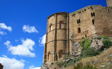 apse in Loarre castle