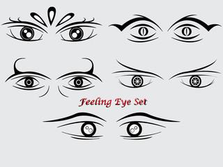 feeling eye set concept2