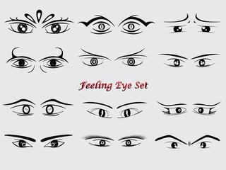 feeling eye all set concept 3