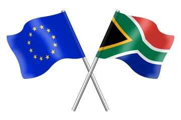 Flags: Europe and South Africa