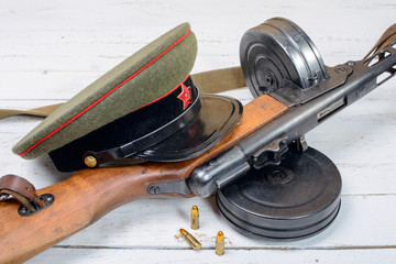 equipment of the Soviet soldier during World War II