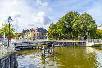 bridge in Harlingen, Netherlands