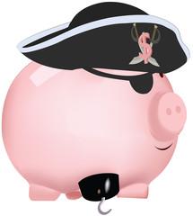 maialino pirata