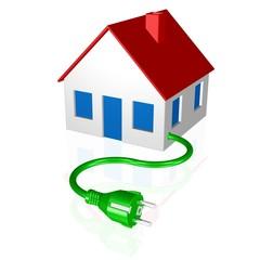 Stromversorgung, grüne Energie