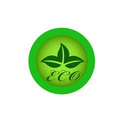 Экология значок  листья