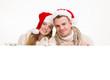 Pärchen Weihnachten Freisteller