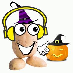little potato man halloween party