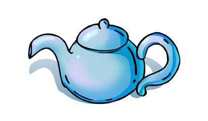 Teapot cartoon