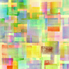 Colorful watercolor designed art,mosaic background