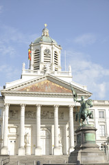 Neoclassical church, Brussels, Belgium
