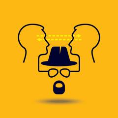 Ideas exchange - Illustration