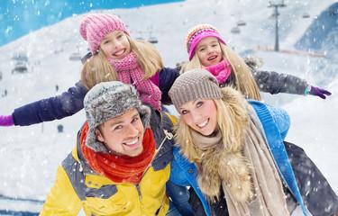 Happy Winter Family