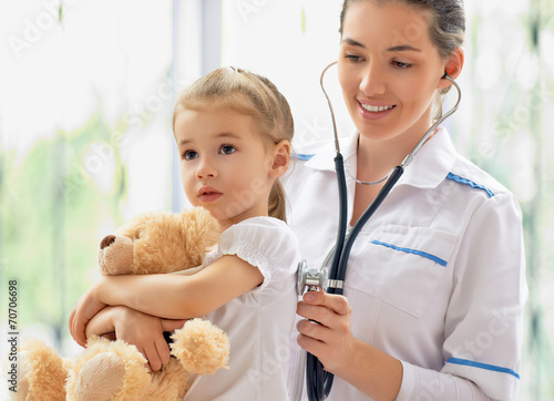 Poster pediatrician