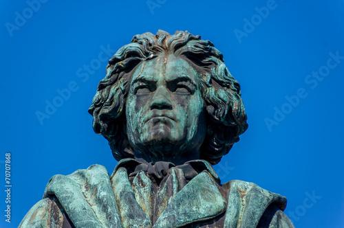 canvas print picture Bonn - Beethovendenkmal