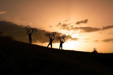 bisikletle zirve başarısı