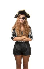 bad pirate portrait