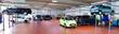 Leinwanddruck Bild - moderne KFZ Werkstatt // Modern Auto Repair