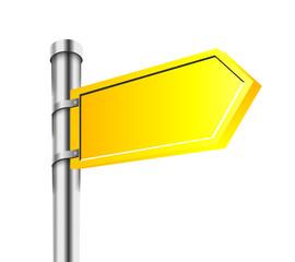 Sing. Vector Design Element. Road Arrow.