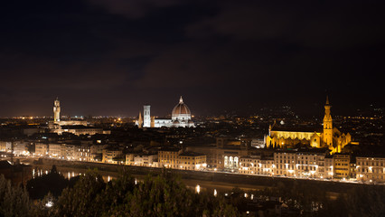 Florence (Firenze) by night