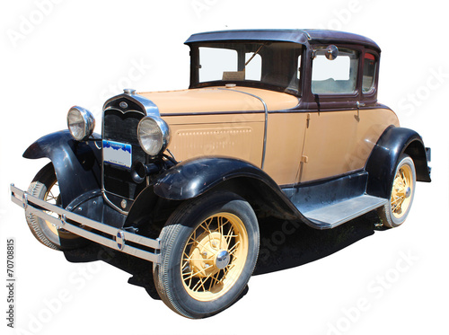 Papiers peints Vintage voitures Old american car - Tacot américain
