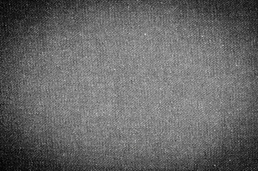 Black and white, jeans canvas background close-up