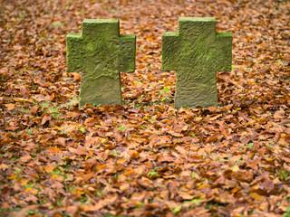 Grabstätte auf dem Ehrenfriedhof