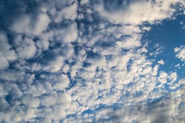 cloudy skies