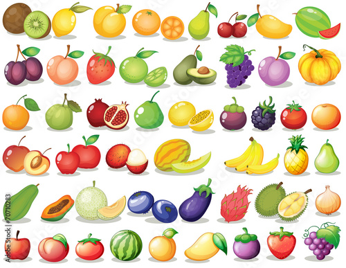 Fruit set © GraphicsRF
