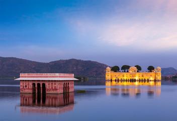 Jal Mahal Water Palace. Jaipur, Rajasthan, India