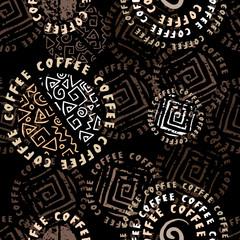 Coffee background ethnic