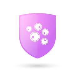 Shield with cells