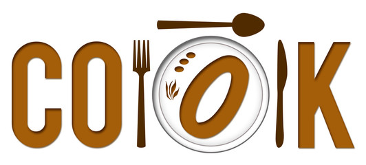 Cook Text With Plate