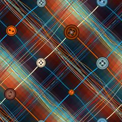 Plaid pattern.