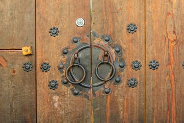 wooden door korean style