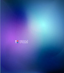 Blue blurred colors abstract background
