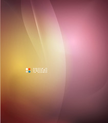 Orange and purple colors template