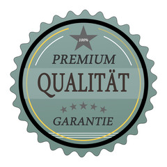 ql9 QualityLabel - Premium Qualität Garantie - türkis g1784