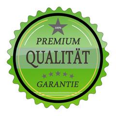 ql10 QualityLabel - Premium Qualität Garantie - grün g1785