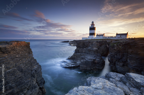 Foto op Aluminium Vuurtoren / Mill Hook Head Lighthouse IV