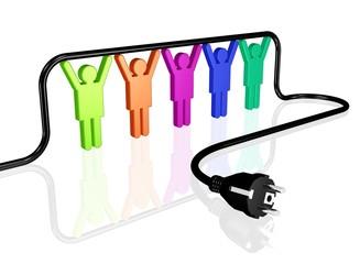 Teamwork - Energieversorgung