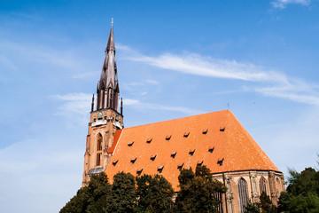 Kirche- Marienkirche in Chojna