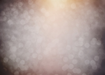 abstract warm bokeh background with glitter lights